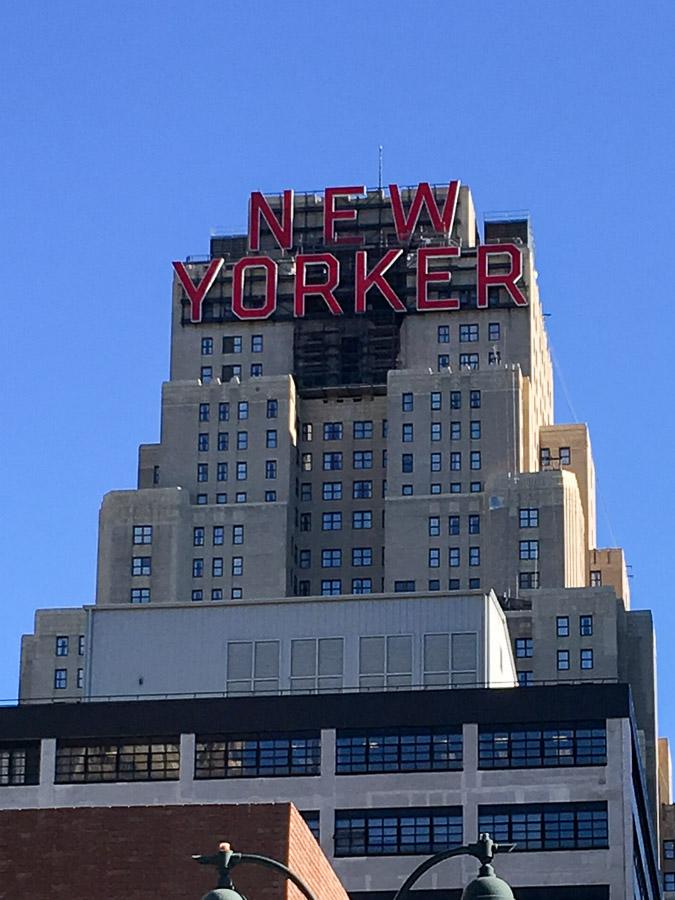 NYC Marathon New Yorker