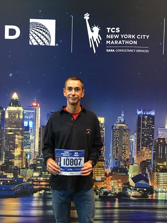 NYC Marathon Bibnummer