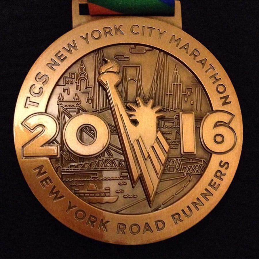 NYC Marathon medaille