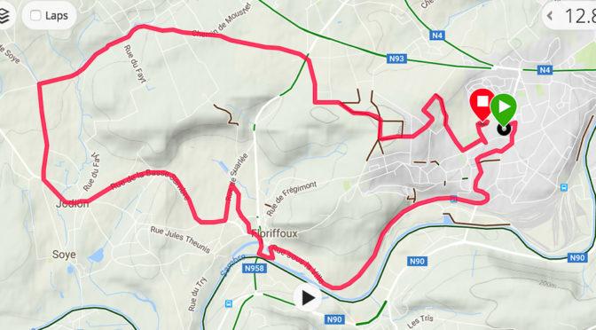 Halve marathon in Flawinne