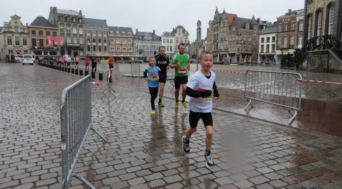 Ziek, dus geen halve marathon