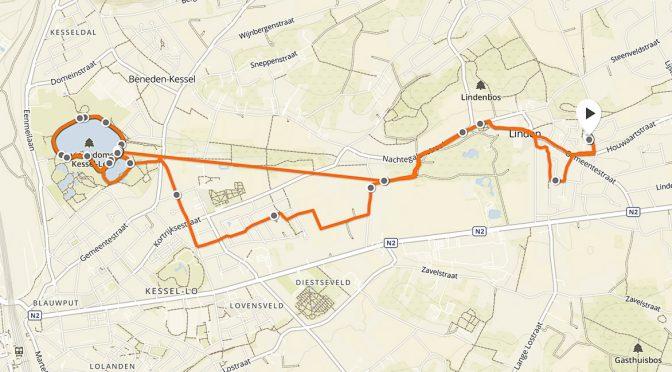 Zware intervaltraining (3x2700m) #NYCmarathon
