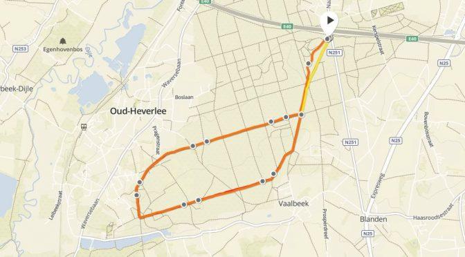 Opnieuw een snelle bosloop D-12 #nycmarathon