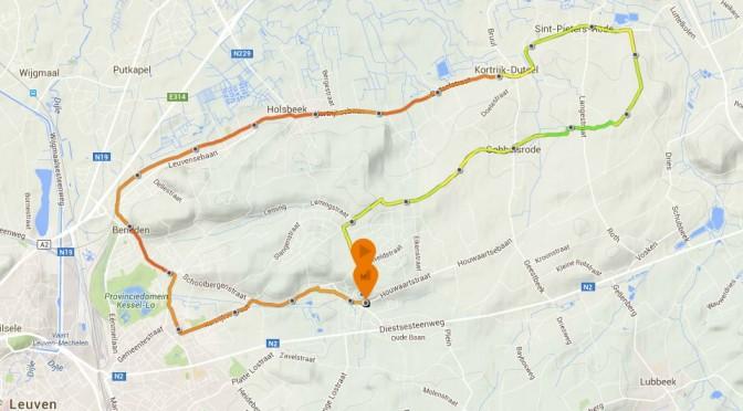 Zomerse duurloop als test marathontempo