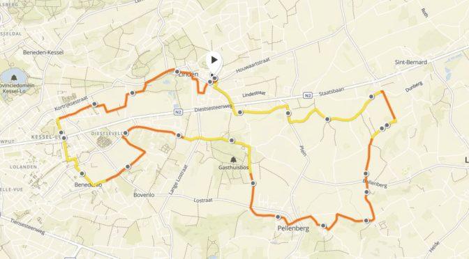 Zondagse duurloop: Pellenberg