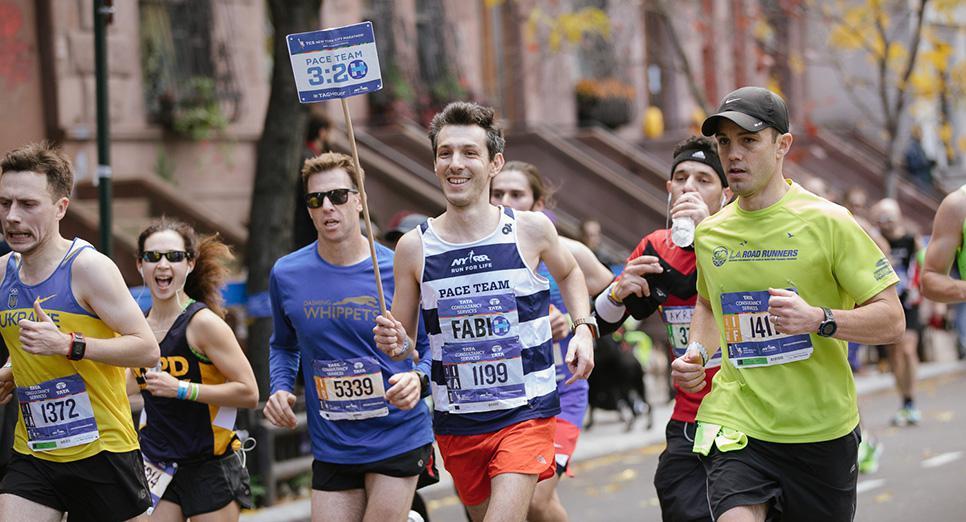 NYC Marathon pacer